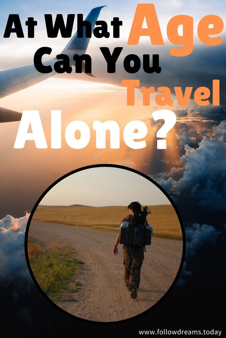 What is minimum age to travel alone