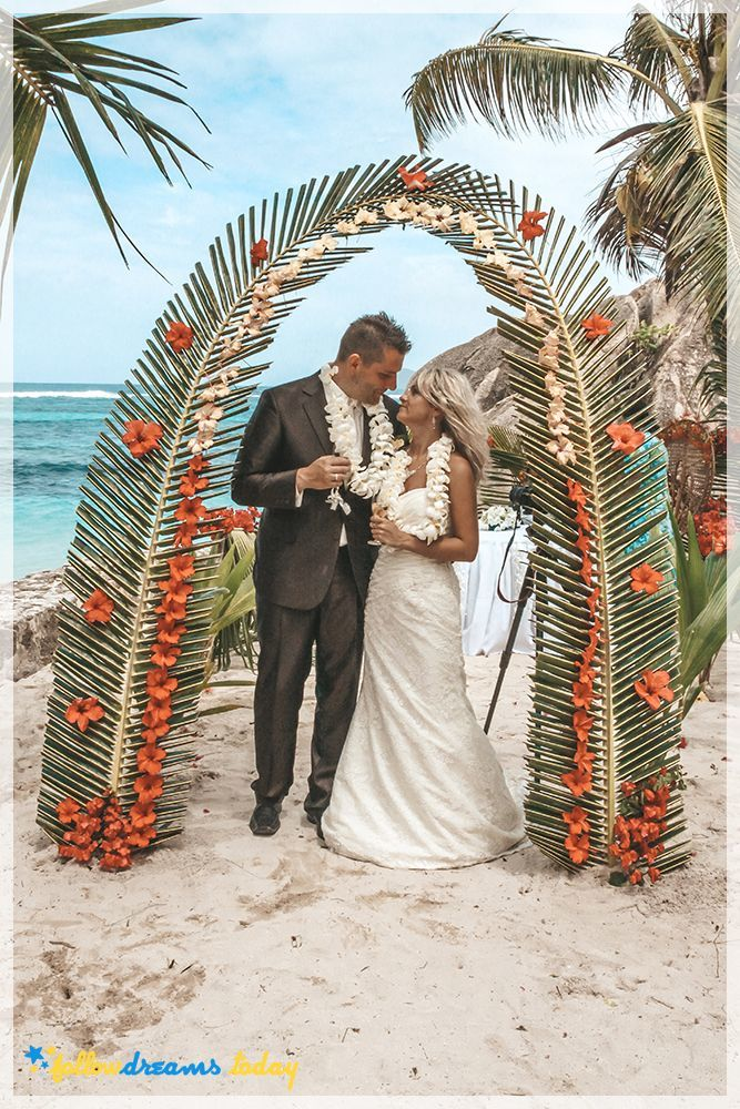 Wedding on prettiest beach in the world